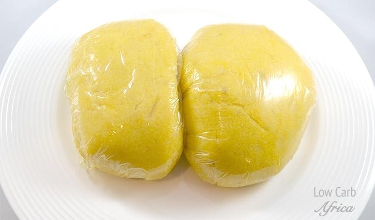 Nigerian Cauliflower Fufu Swallow
