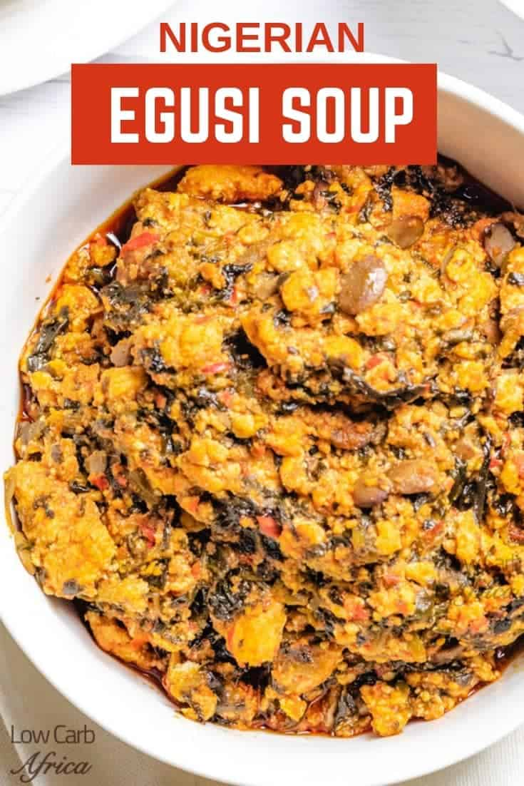 Egusi soup pinterest