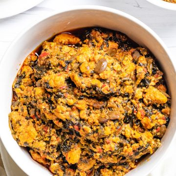 Egusi soup is a healthy low carb nigerian soup