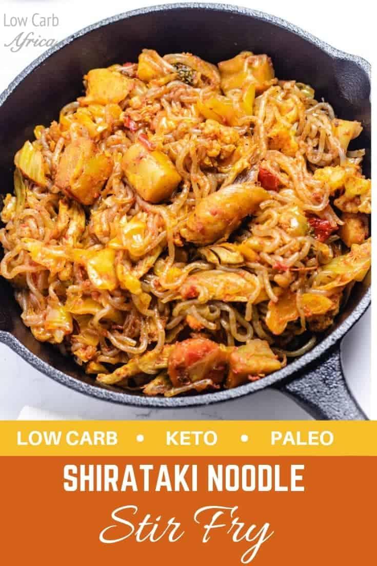shirataki noodles stir fry