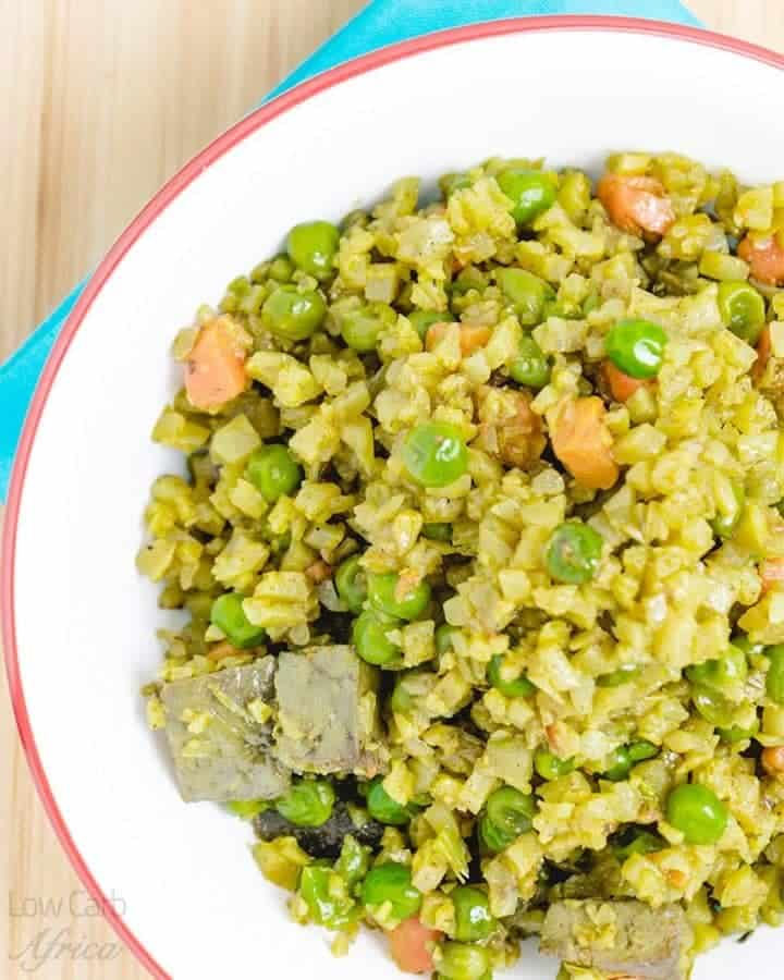 Cauliflower fried rice homepage
