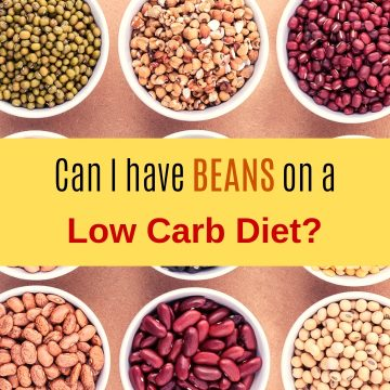 Can I have beans on a low carb diet