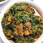 Efo Riro – Nigerian Spinach Stew