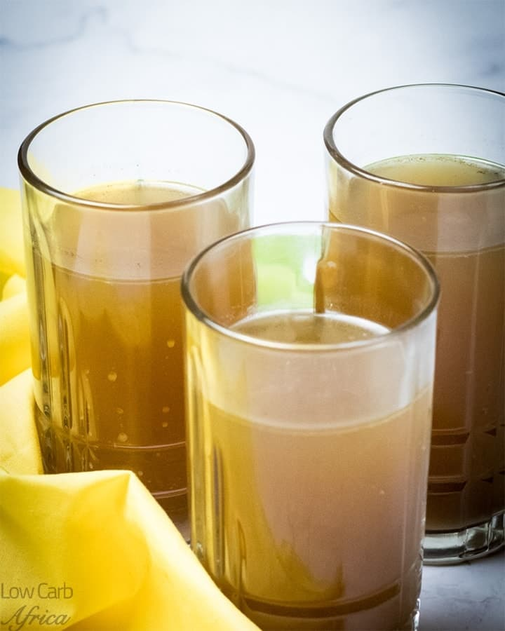 Beef bone broth is a tasty and nutritious soup that your family will enjoy