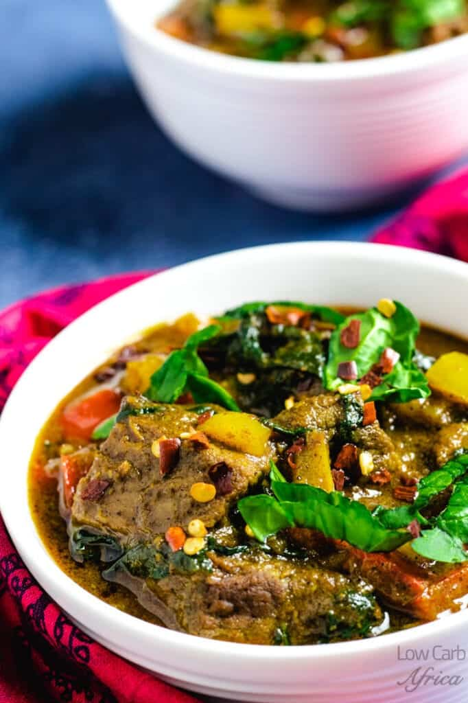Lamb curry with coconut milk main image