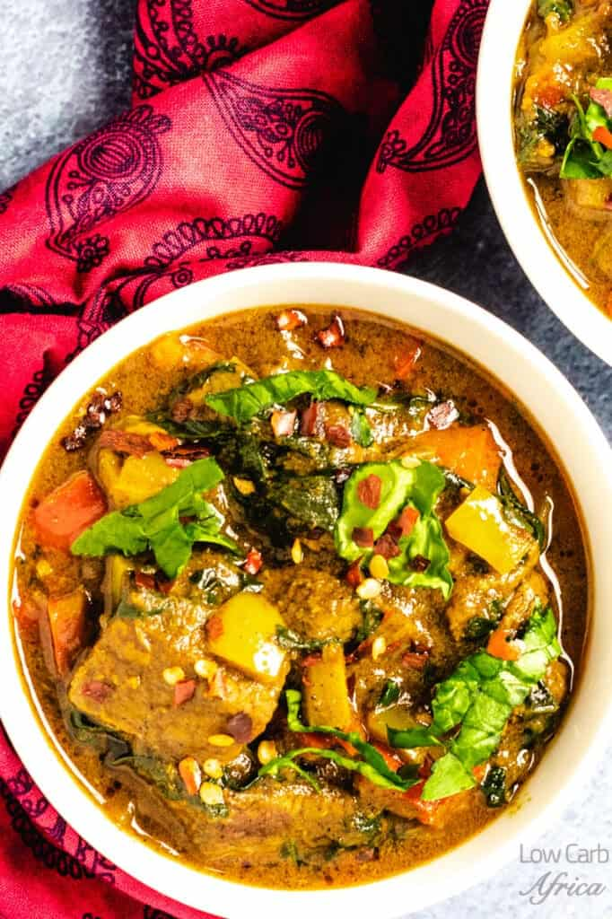 another image of Lamb curry with coconut milk