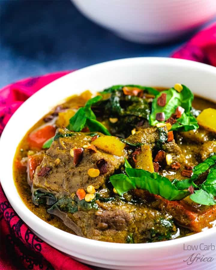 Lamb Curry With Coconut Milk Low Carb Africa