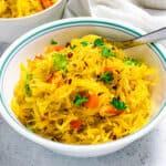 tasty spaghetti squash recipe social media image