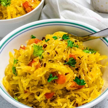 tasty spaghetti squash recipe featured image