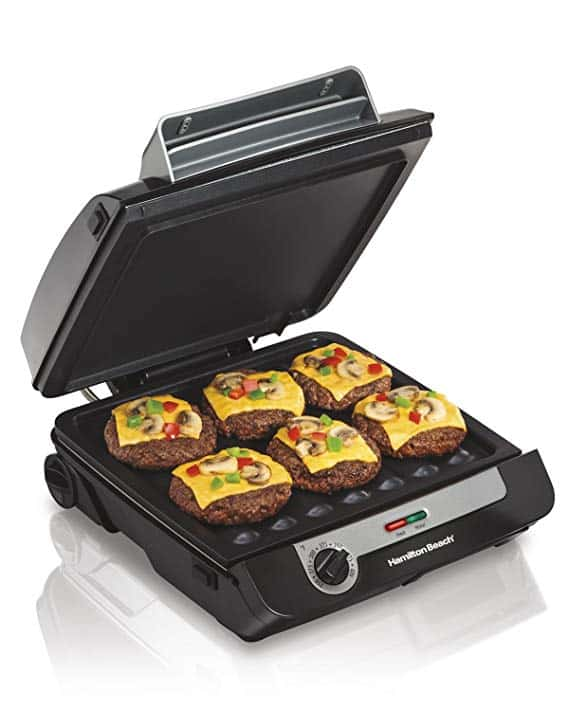 Indoor Grill and Electric Griddle Combo