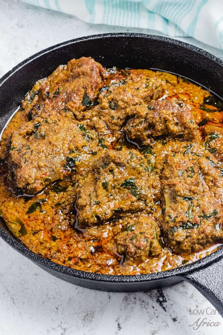 beniseed soup african sesame stew is an nigerian soup eaten with fufu
