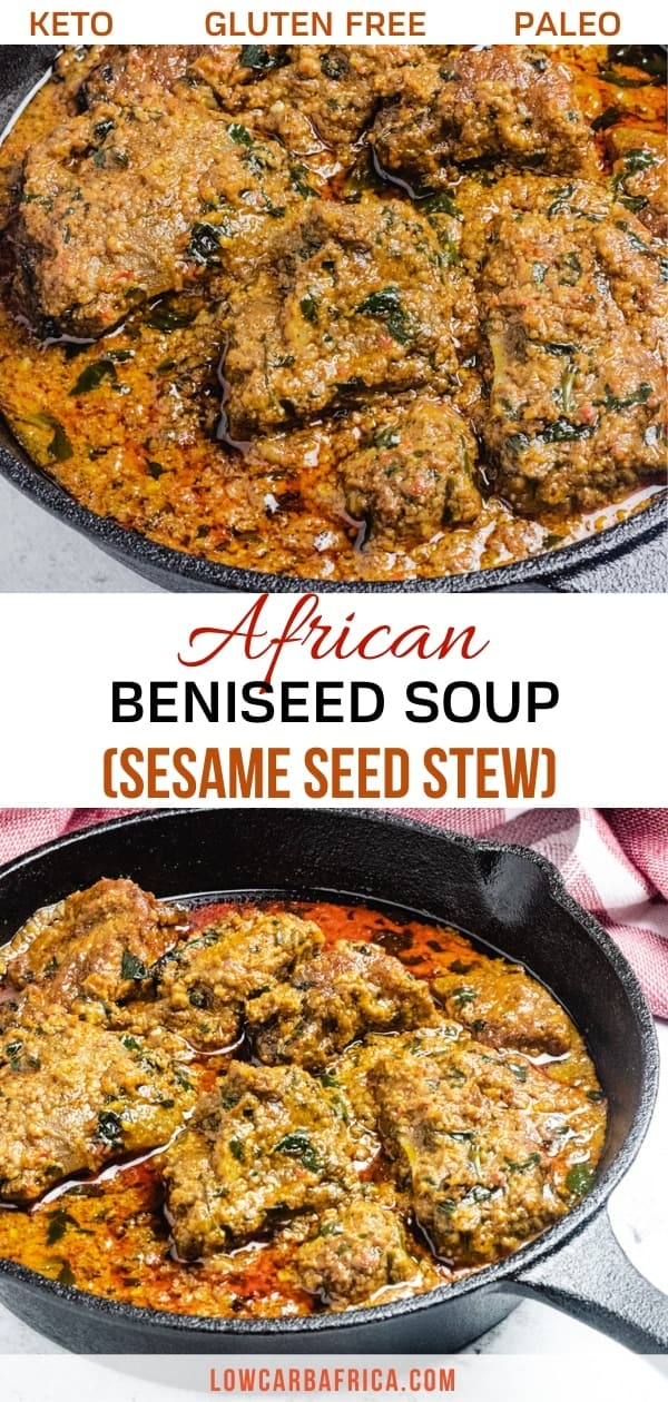 beniseed soup african sesame stew pinterest image