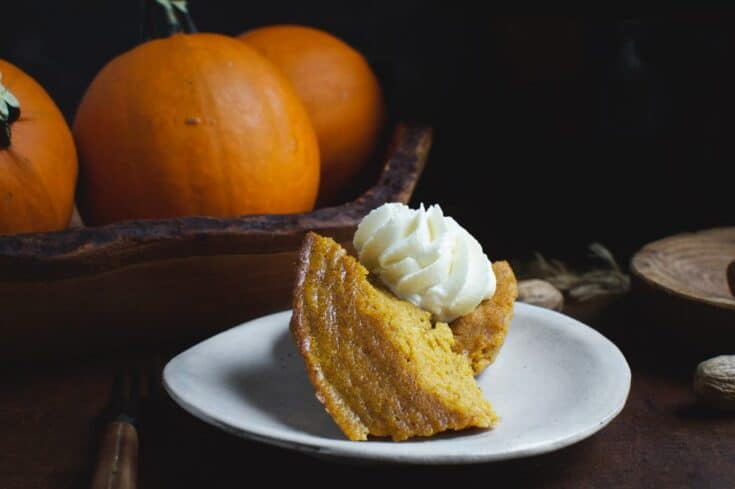 Low-Carb Slow-Cooker Pumpkin Custard Recipe