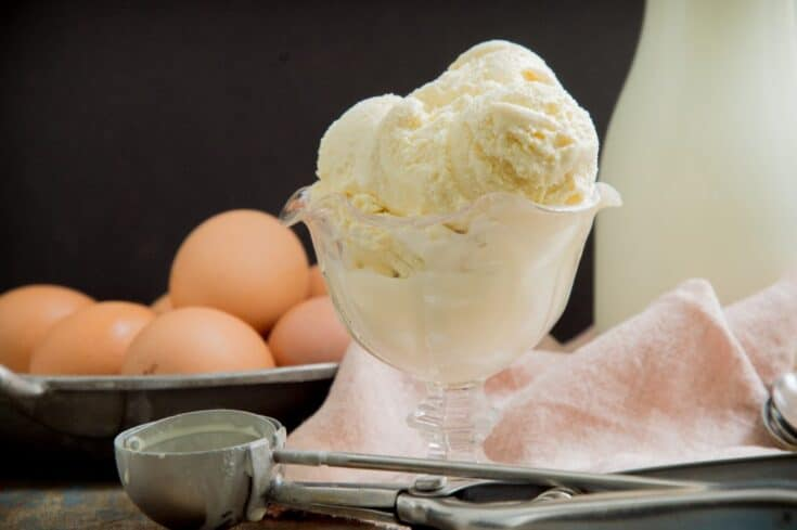 Keto Vanilla Ice Cream Recipe - Simply So Healthy