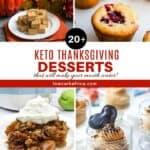 20+ Scrumptious Keto Thanksgiving Desserts
