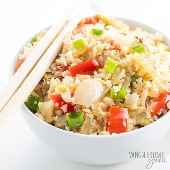 Easy Paleo Cauliflower Fried Rice Recipe