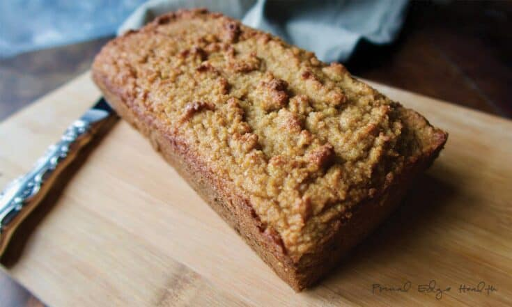 Ketogenic Gingerbread Loaf with Grass-fed Gelatin