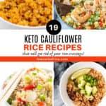 19 Keto Cauliflower Rice Recipes