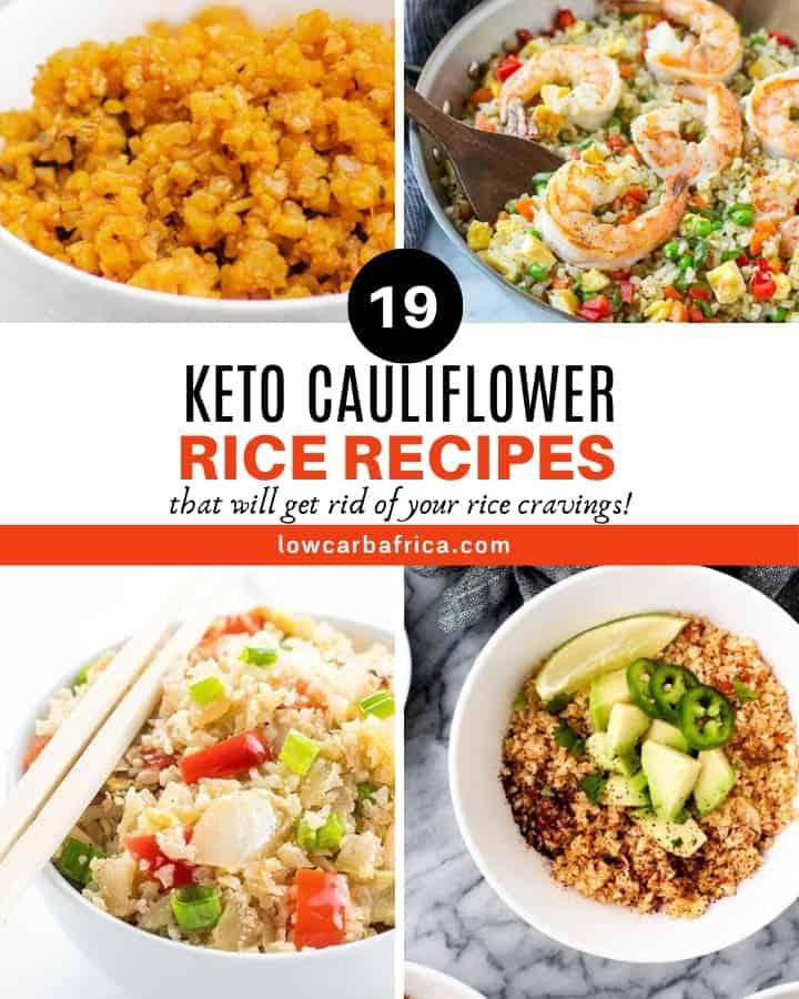 best keto Cauliflower rice recipes roundup homepage