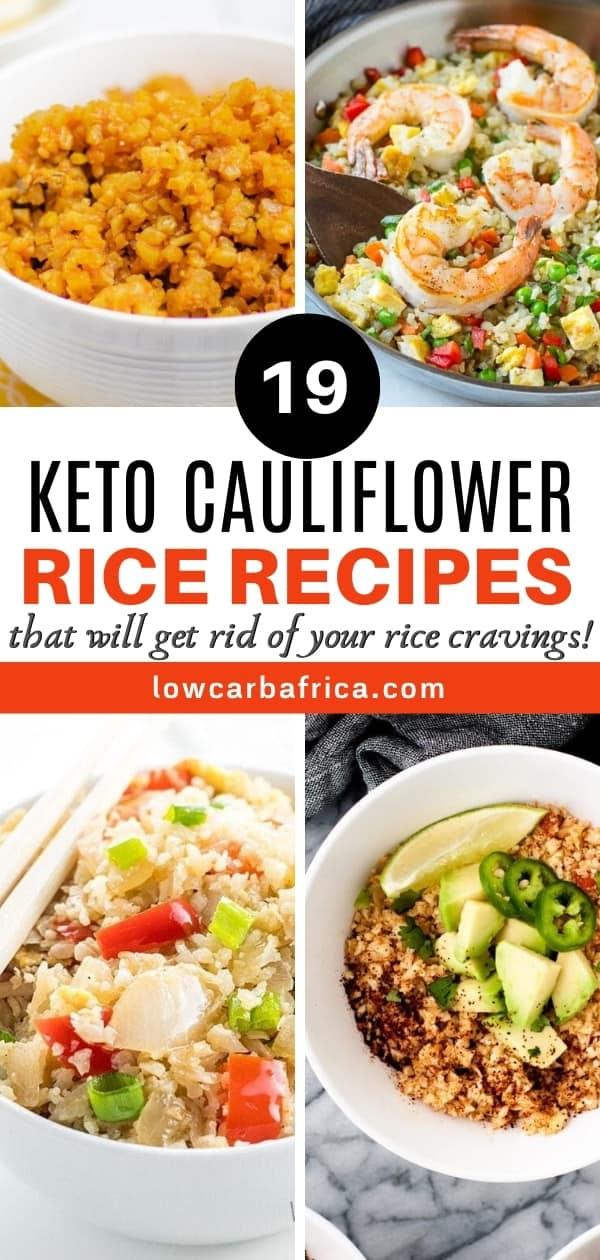 best keto Cauliflower rice recipes roundup
